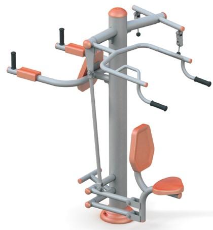 Aparat fitness multifunctional pentru brate si umeri