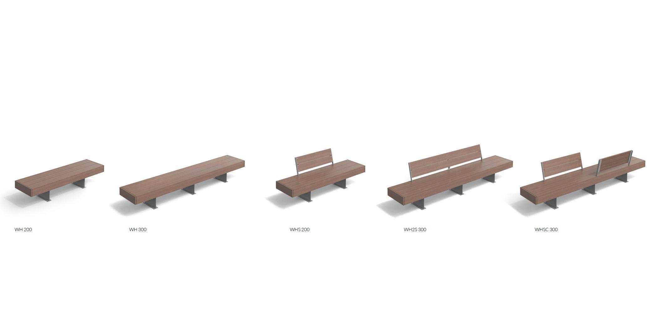 HARRIS WPC COLLECTION MODULAR SEATS