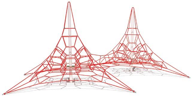 Piramidă de cățărat