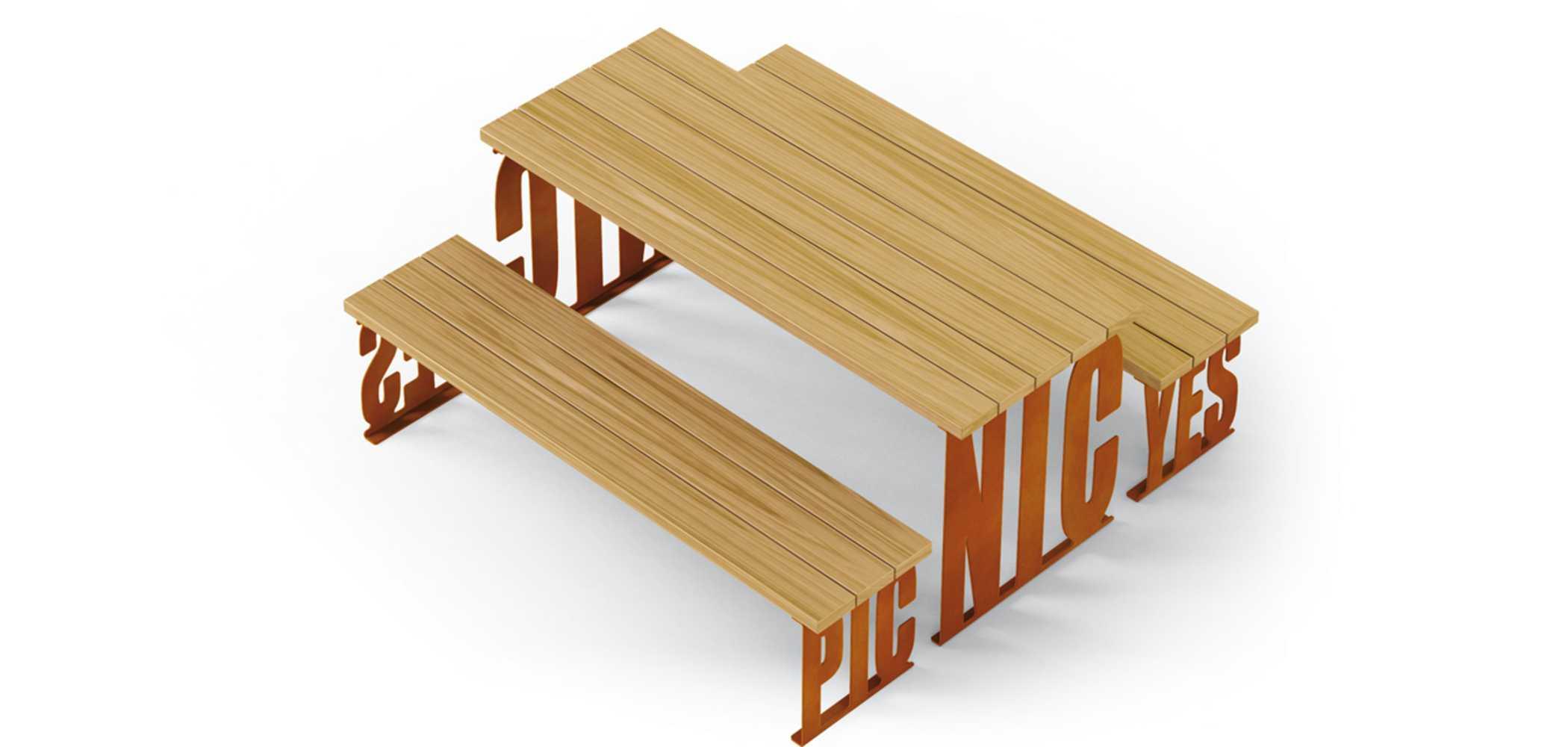 PIC NIC PICNIC TABLE