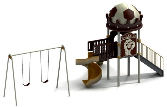 Grup de joaca – UN TURN cu ACOPERIS MINGE de FOTBAL