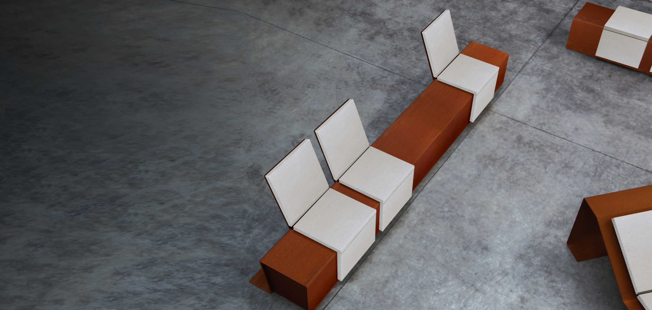 CORTOMADERE SSEATS & CHAISE LONGUE